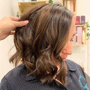 tlc hair salon brunette bob in rowville melbourne australia