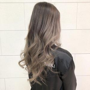 ash brown balayage wavy long hair by mai yamauchi from melbourne city australia