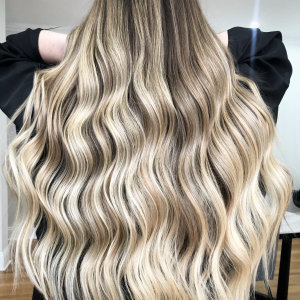 blonde balayage hair by m and co hair design in wooden victoria australia